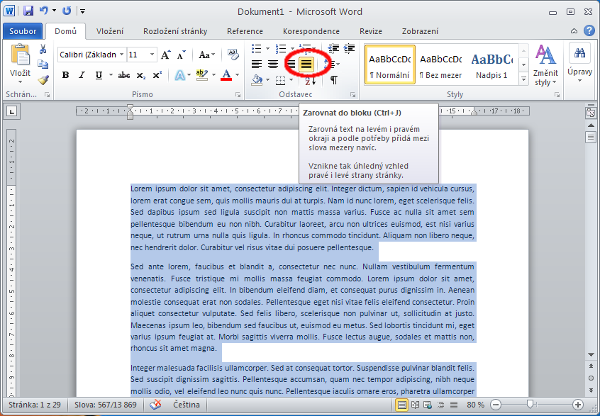 Jak Nastavit Okraje Stranek Ve Wordu Formatovani Dokumentu Cz